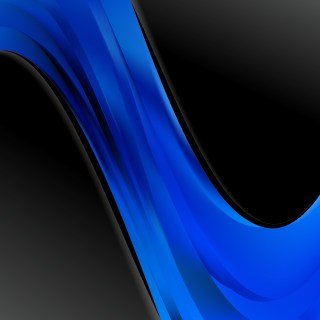 Cool Blue Wave Business Background