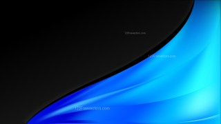 Abstract Cool Blue Wave Business Background Vector Image