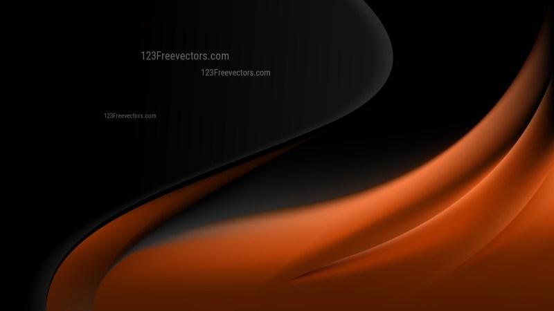 Cool Brown Wave Business Background Vector Illustration