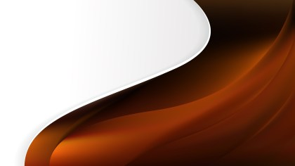 Abstract Cool Brown Wave Business Background