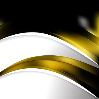 Cool Gold Wave Business Background
