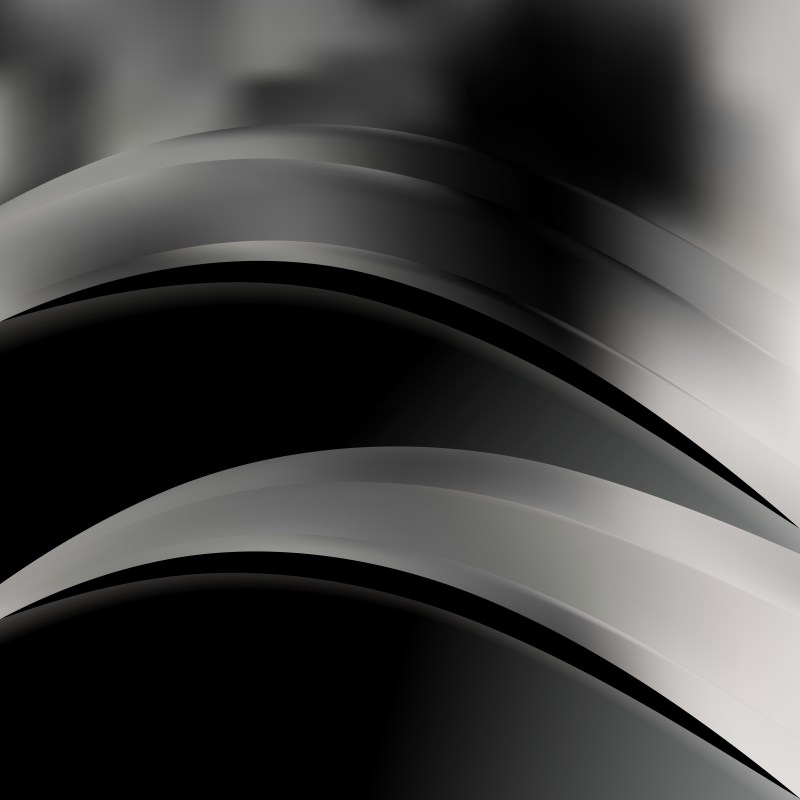 Cool Grey Wave Business Background