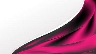 Cool Pink Wave Business Background