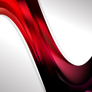 Abstract Cool Red Wave Business Background Vector Image