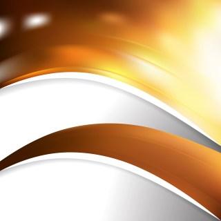 Dark Orange Wave Business Background Image