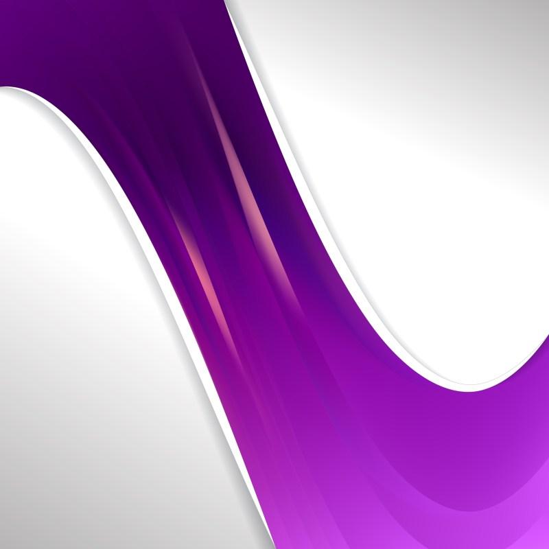 Dark Purple Wave Business Background Image