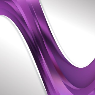 Abstract Dark Purple Wave Business Background