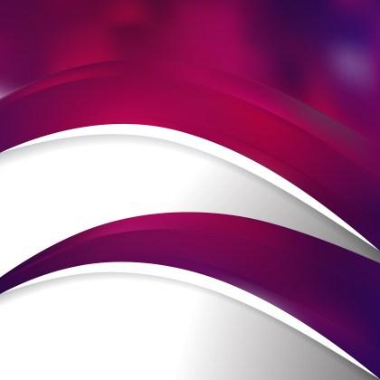Abstract Dark Purple Wave Business Background