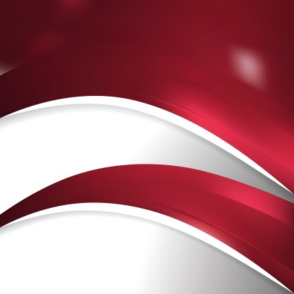 Dark Red Wave Business Background Image