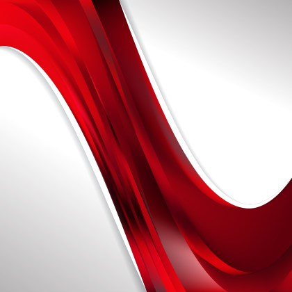 Abstract Dark Red Wave Business Background