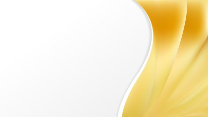 Abstract Gold Wave Business Background Design Template