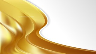 Gold Wave Business Background