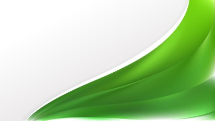 Abstract Green Wave Business Background Vector Image