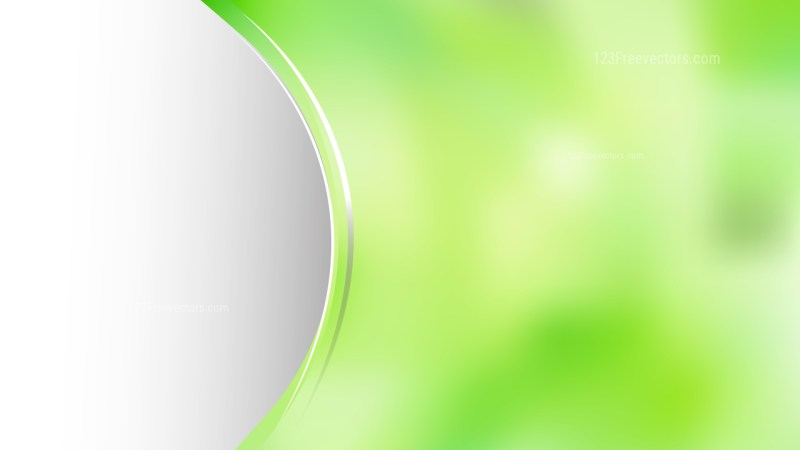 Abstract Green and Beige Wave Business Background