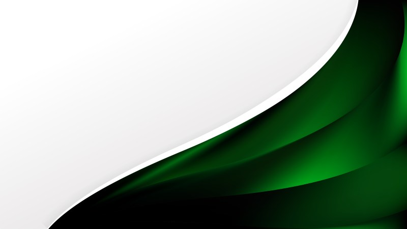 Green and Black Brochure Design Template