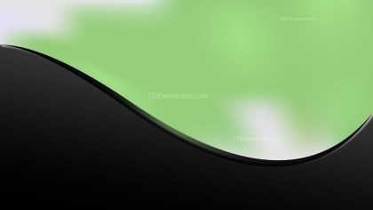 Green and Black Business Background