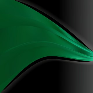 Green and Black Background Template