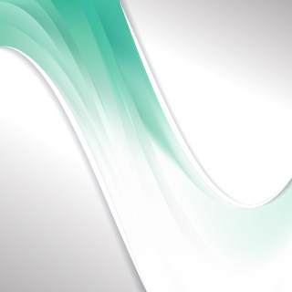 Abstract Green and White Wave Business Background