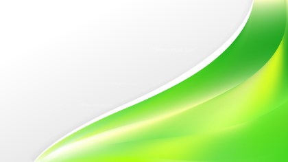Green and Yellow Wave Business Background Image