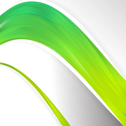 Green and Yellow Wave Business Background