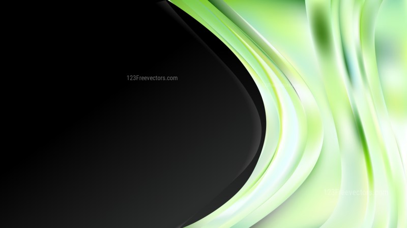 Green Black and White Business Background Template