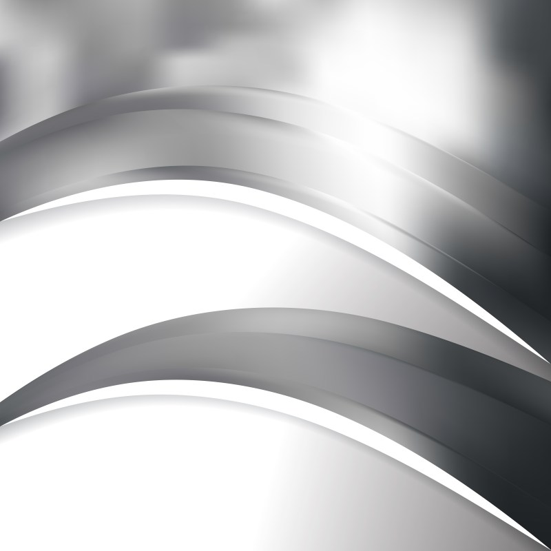 Grey and White Wave Business Background
