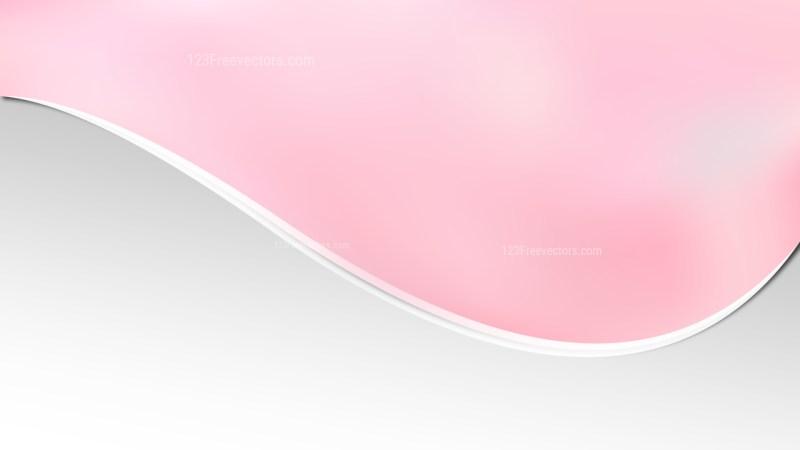Light Pink Wave Business Background