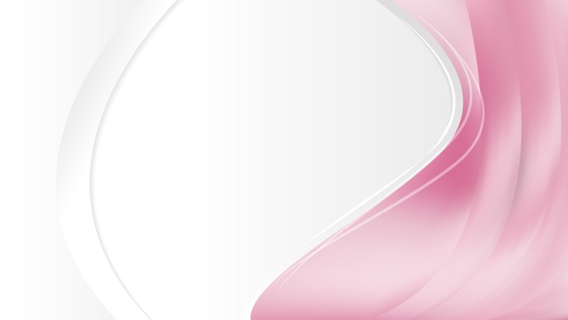 Abstract Light Pink Wave Business Background Illustration