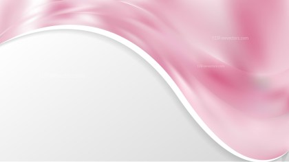 Abstract Light Pink Wave Business Background