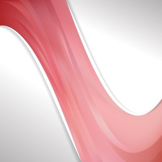 Light Red Wave Business Background