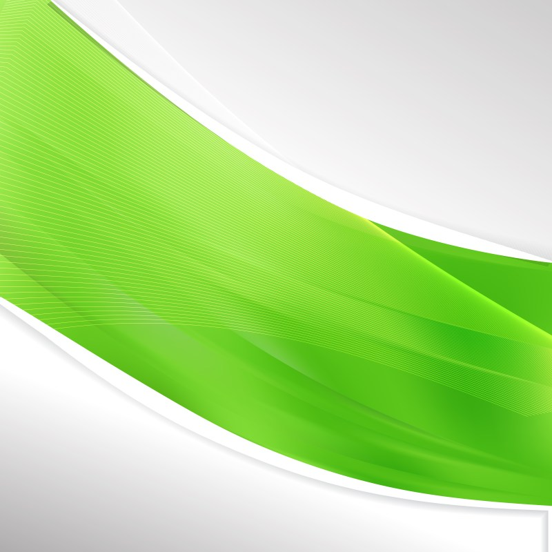 Lime Green Wave Business Background