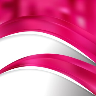 Abstract Magenta Wave Business Background