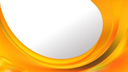 Orange Wave Business Background
