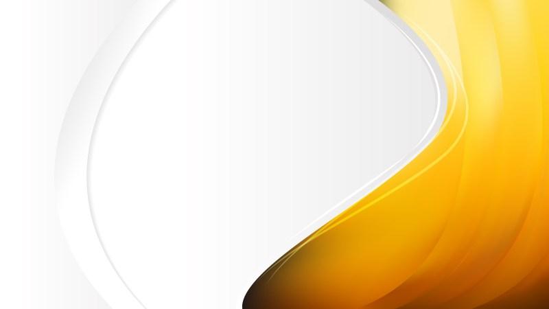 Orange Business Background Template