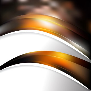 Orange and Black Business Background