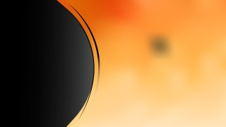 Orange and Black Wave Business Background Vector Art