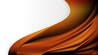 Orange and Black Wave Business Background Image