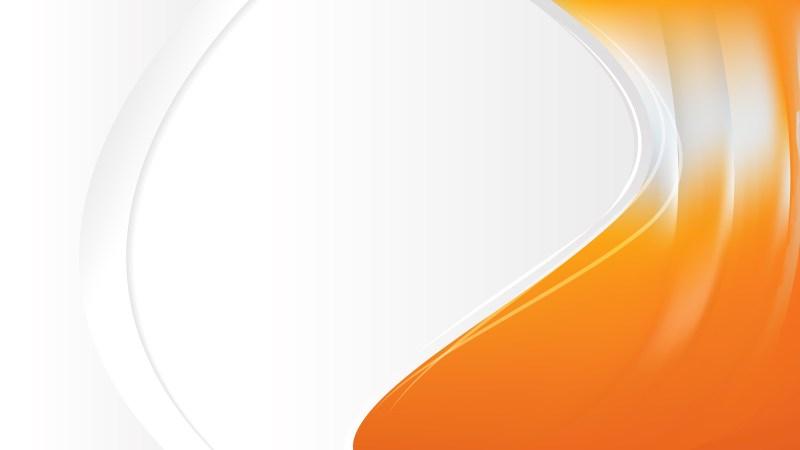 Orange and White Business Brochure