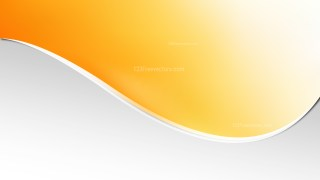 Orange and White Background Template