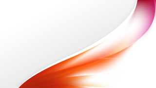 Abstract Orange and White Wave Business Background Vector Image