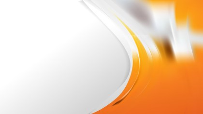 Orange and White Business Background