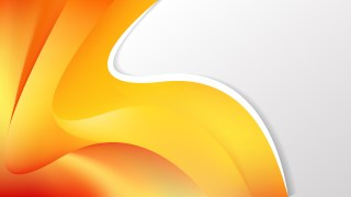 Orange and Yellow Wave Business Background Image