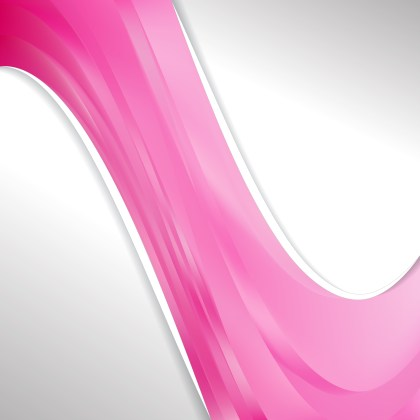 Abstract Pink Wave Business Background Illustration