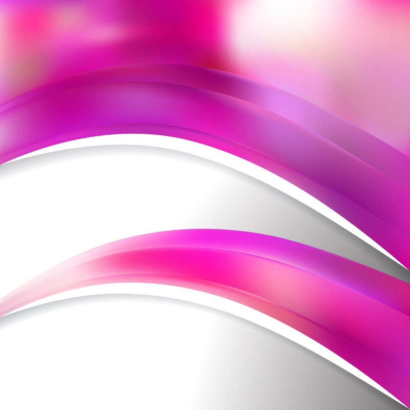 Pink Wave Business Background Vector Illustration