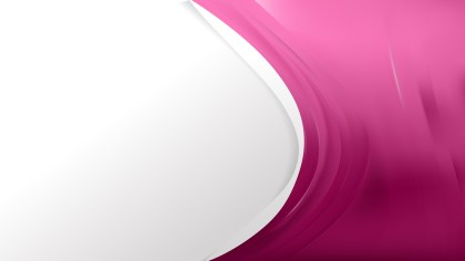 Abstract Pink Wave Business Background Design Template