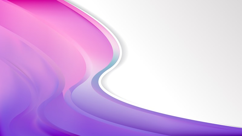 Pink and Purple Wave Business Background Image