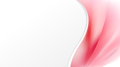 Abstract Pink and White Wave Business Background Illustration