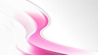 Abstract Pink and White Wave Business Background Design Template