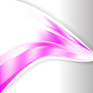 Abstract Pink and White Wave Business Background Vector Image