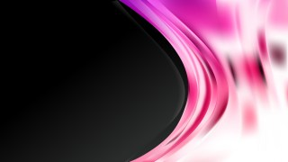 Pink Black and White Wave Business Background